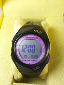 Casio Str 300. PHYS 10 Year Battery, Features, Lap Time. Stop Watch. Vintage!