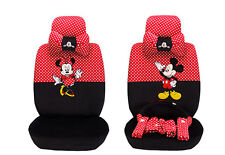 18ps/set new cute Mickey Mouse Cartoon car seat cover plush universal car-covers