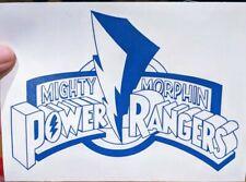 Original Mighty Morphin' Power Rangers Logo for Home, Car, Yeti, Laptop, Electro
