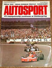 Autosport 6/6/74 - IMOLA 1000 - SALZBURG F2 - BRIAN REDMAN - ZANDVOORT F5000