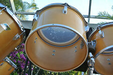 """EXPAND Your DRUM SET! RARE LATE 70's/80's LUDWIG 13"""" NATURAL CONCERT TOM #G659"""