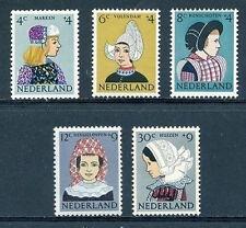 Nederland  747-751 Klederdrachten 1960 postfris/mnh