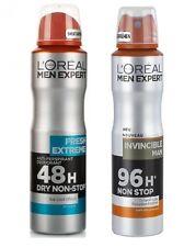 (17,93 €/L ) 150 ml L'Oréal Men Expert 48/96H Déodorant Anti-Transpirant FRAIS