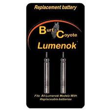 Burt Coyote Lumenok Replacement Batteries - 2pk RB 3V #00005 GT X H Signature