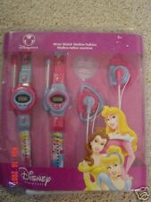 DISNEY STORE PRINCESS WRIST WATCH WALKIE-TALKIES-NEW