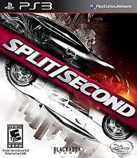 Split/Second Split Second PS3 (Sony PlayStation 3, 2010) Brand New Sealed