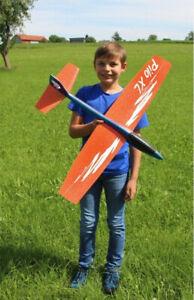 Wurfgleiter Styropor Flugzeug Looping Gleitflug Flieger Schaumwurfgleiter - 86cm