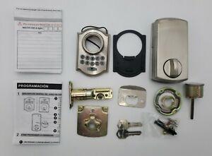 Defiant G7X2D01AA Single Cylinder Electronic Keypad Deadbolt