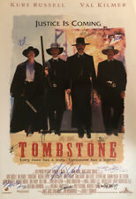 Signed Collectible   TOMBSTONE  Movie Poster
