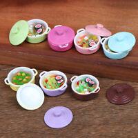 Dollhouse Kitchen Accessories Miniature 1:12 Mini-color soup potOZBDAU