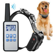 Rechargeable Dog Training Collar Remote Control No Barking Anti Bark Pet Trainer