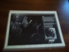 """1973 Vintage B&W Promo Print Ad for Orphan """"Rock And Reflection"""" Album"""