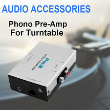 Pro2 Inline Phono Preamp Pre-Amp Stereo Audio Vinyl Record Player Turntable