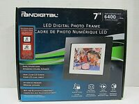 PANDIGITAL 7 INCH LED DIGITAL PHOTO FRAME PAN7000DW WITH MUSIC&VIDEO NO REMOTE