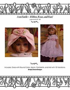 Ann Estelle 10in ~ Ribbons, Roses, & Hats  ~ by Simply Grace Designs