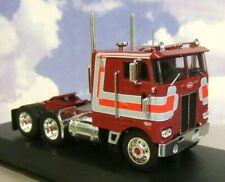 IXO DIECAST 1/43 1979 PETERBILT 352 PACEMAKER TRUCK/TRACTOR/CAB DARK RED TR024
