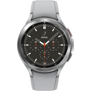 Samsung Galaxy Watch4 Classic 46mm Smartwatch SM-R890NZSCXAA Silver & Black Band