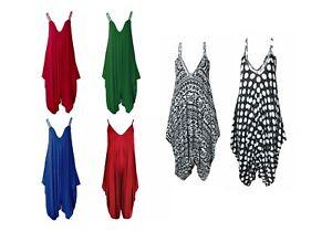 eBay Brand ZOONAG Ladies Strappy Hareem Sleeveless Baggy Jumpsuit