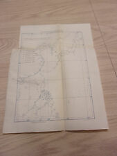 1897 Sketch Map of Philippines Showing Cyclones Formed In The China Sea