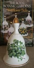 DANBURY MINT FINE BONE CHINA BELL IVY NOVEMBER ROYAL BOTANIC GARDENS PERFECT