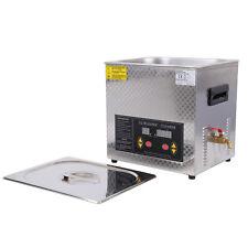 10L Kapazität Ultrasonic Ultraschallreinigungsgerät Ultraschall Cleaner Reiniger