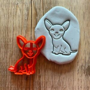 Chihuahua dog cookie/ biscuit cutter, animal, pets, cute