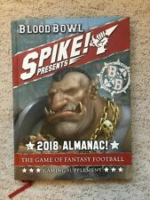 Games Workshop Blood Bowl 2018 Spike Almanac