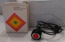 Polaroid Instant Sx-70 Camera #112 Remote Shutter Button +Box Tested