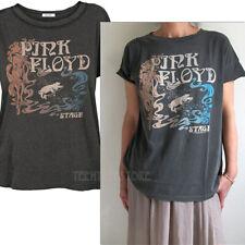 Junk Food Pink Floyd Stage Side Slit Back Seam Loose Fits Soft Tissue T-shirt NW