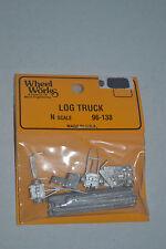 Wheel Works 96-138 Log Truck Metal Model Kits N scale
