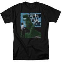 Edward Scissorhands Edward Was Here T-Shirt Sizes S-3X NEW