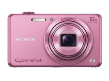 Cámara - Sony Cyber-Shot DSC-WX220P Rosa, Wifi, NFC