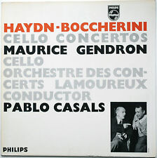 HAYDN/BOCCHERINI Cello Concertos GENDRON/CASALS Philips 835069 AY