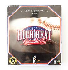 High Heat Baseball 1999 - PC CD-ROM Baseball Game - Rare PC Game - New & Sealed