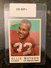 1959 Topps Football #50 OLLIE MATSON........EX-MT++