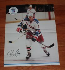 1981Don Maloney NY Rangers Madison Square Garden George Kalinsky Jumbo Poster-NM