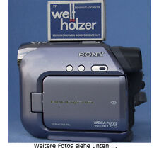MEGAPIXEL-Gerät! Sony DCR-HC39E PAL Camcorder MiniDV+LCD+Farbsucher+Gewähr