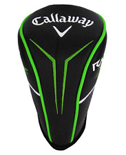 NEW CALLAWAY DRIVER 1 WOOD HEAD COVER BLACK GREEN 460cc big head cover