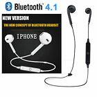 2017! Wireless Bluetooth Auricular Stereo Earphone Sport for iPhone 7 Samsung`