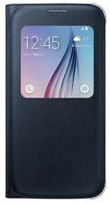 Samsung Galaxy S6 S-View Protective Flip Cover Black Sapphire, EF-CG920PBEGUS