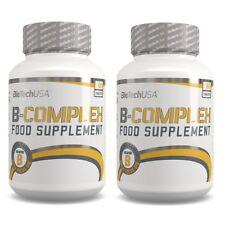 Multi Vitamin + B Complex 2x60 Tabletten (Biotech USA) - Maximal dosiert + Bonus