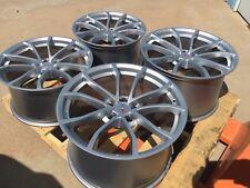 GM OEM Silver 2012 2013 Corvette Cup Wheels 19x10 20x12 ZO6 Z06 ZR1 Grand Sport