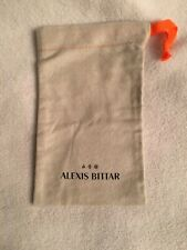 Drawstring + Card, Buy 2+ discount! Alexis Bittar Large Jewelry Dust Bag Orange