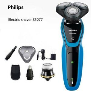 Philips Multi-function Electric Shaver S5077 Charging Dry and Wet Shaving