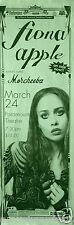 FIONA APPLE / MORCHEEBA 1997 DENVER CONCERT TOUR POSTER