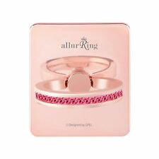 allurRing Authentic Swarovski Cell phone Ring Holder Grip - Rose gold Scarlet