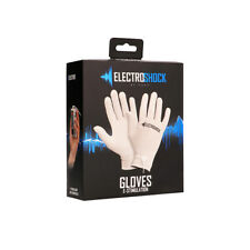 ElectroShock E-Stim Gloves - Grey  FREE SHIPPING