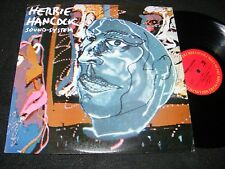 HERBIE HANCOCK LP Sound-System Columbia 1984 BILL LASWELL Material Art Funk Clen