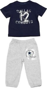 Dallas Cowboys NFL Merchandising Toddler Shirt/Pant Set Size 4T - New With Tags