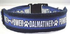 "Hundehalsband "" Dalmatiner Punkte Power"", L 50-55 cm Halsumfang"